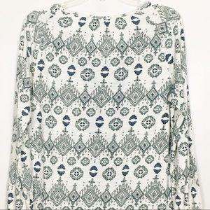 Lucky Brand Tops - Lucky Brand Boho Peasant Long Sleeve Top Sz S